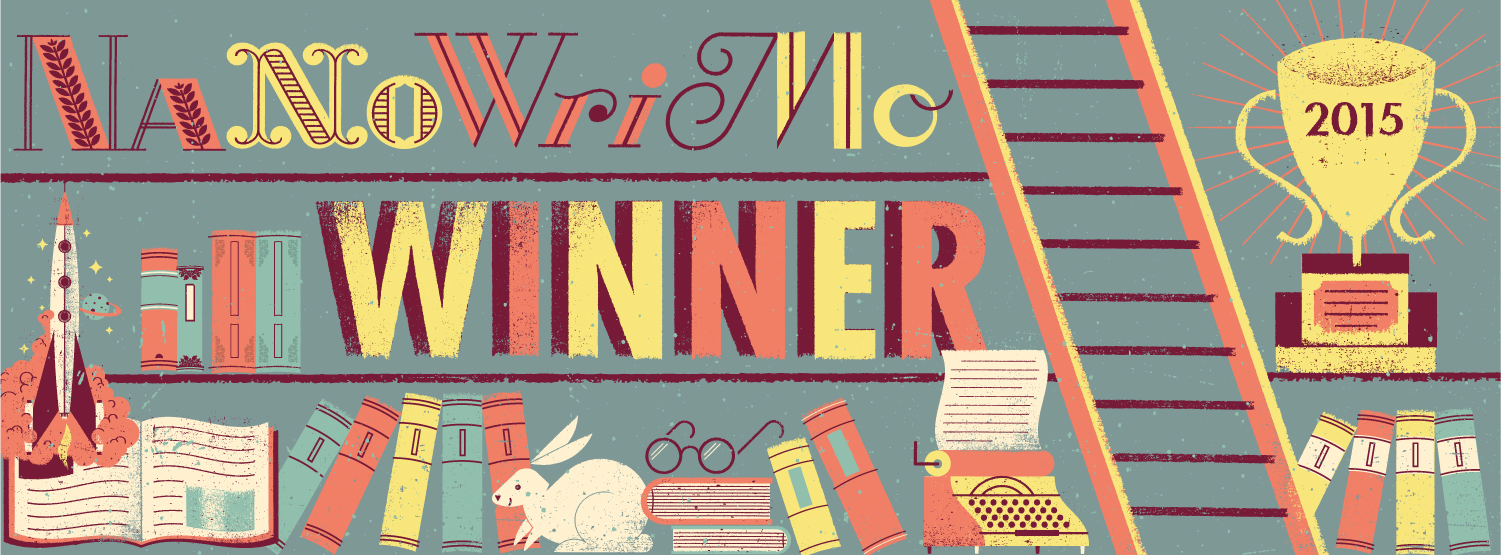 NaNoWriMo Winner Badge!