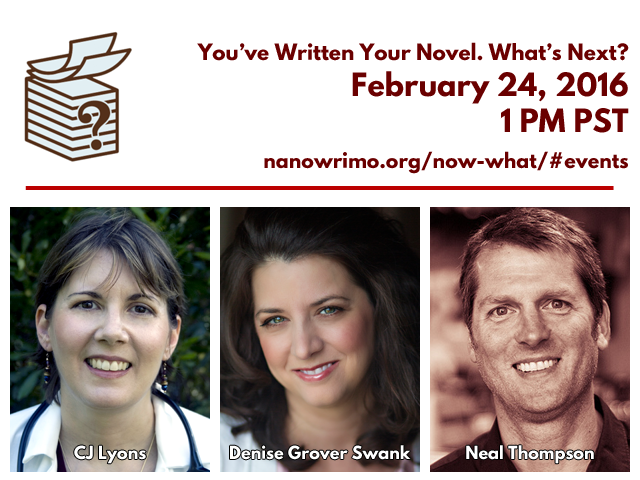 You Wrote Your Novel. What's Next?