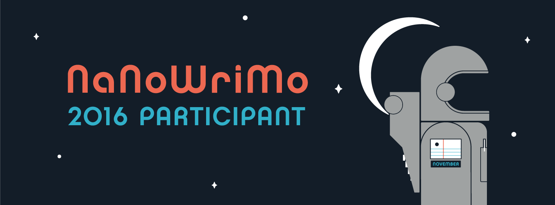 NaNoWriMo 2016 Participant Banner