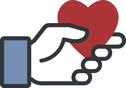 Facebook Charitable Giving logo