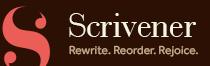 Scrivener, a Camp NaNoWriMo sponsor