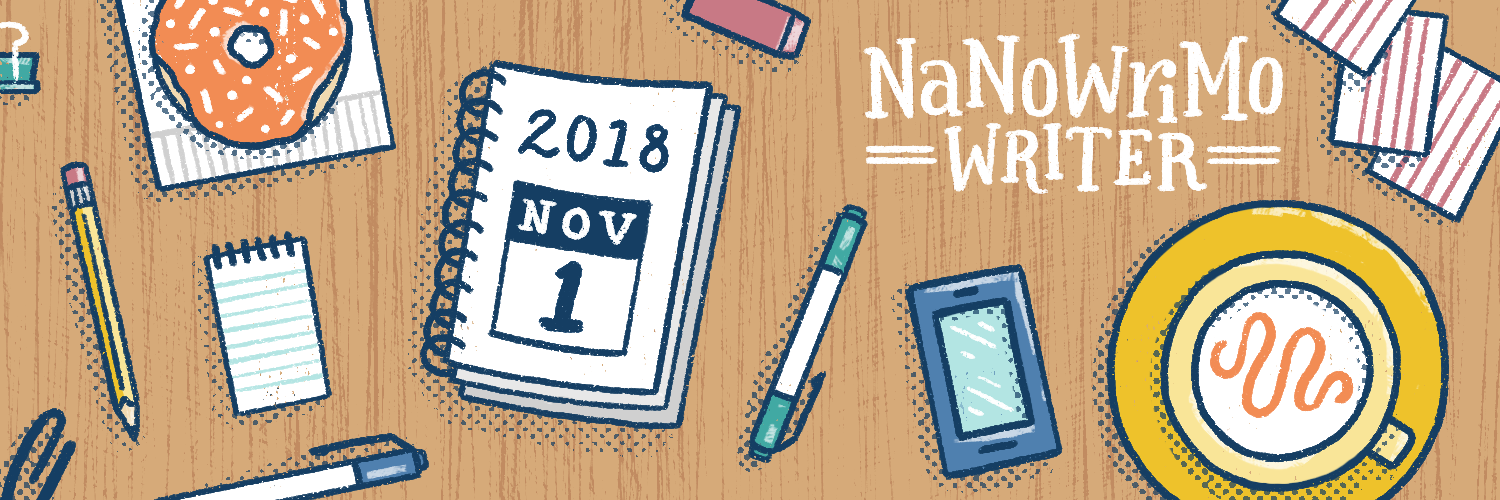 Image result for nanowrimo 2018 participant