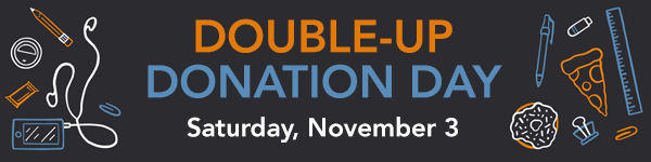 Double-Up Donation Day 2018