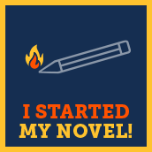 I started writing badge